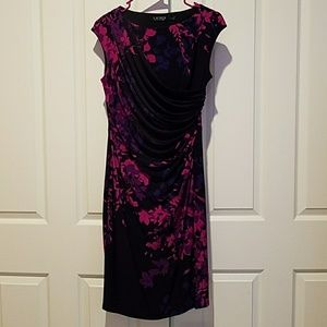 Purple & pink dress